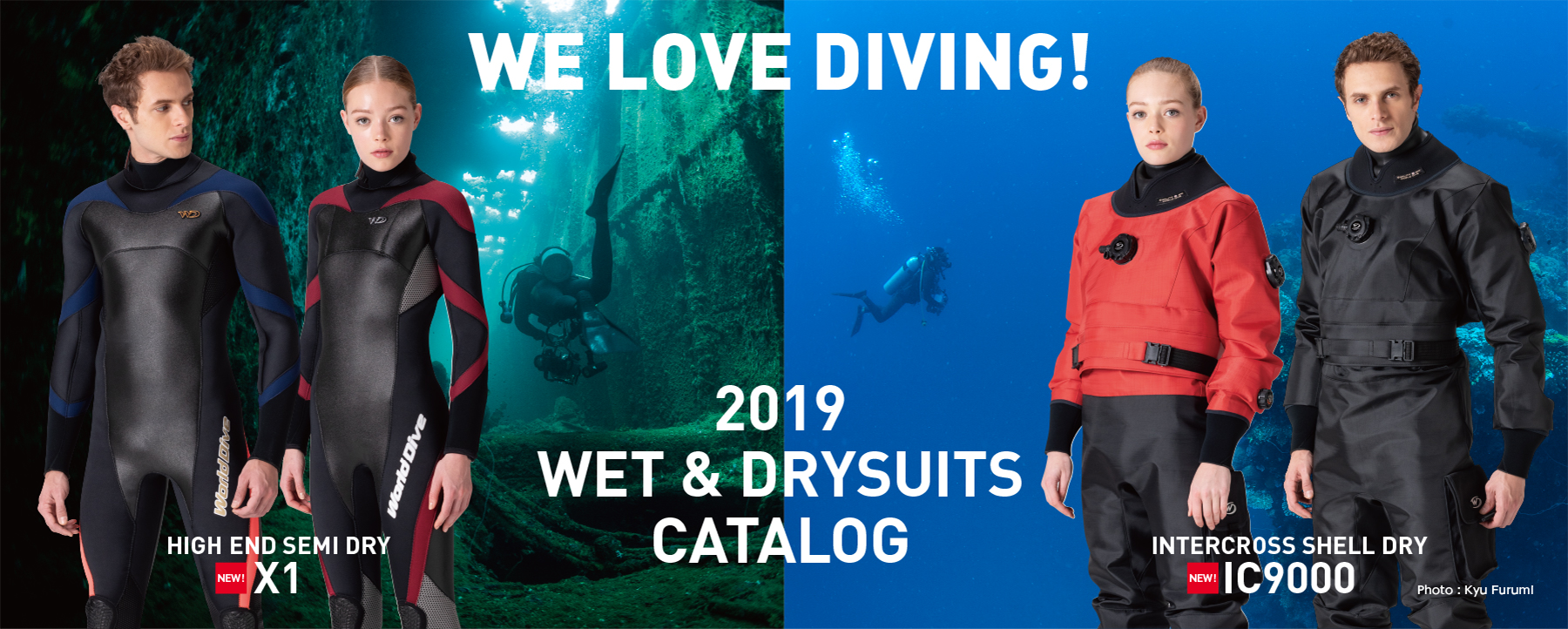 WE LOVE DIVING!