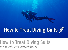 How to Treat Diving Suits